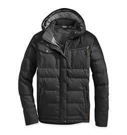 Outdoor Research Men's Whitefish Down Jacket, Black, Small