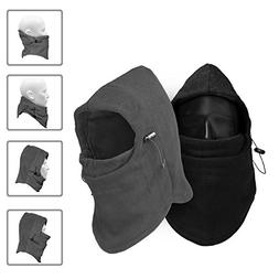 TopTops Windproof Fleece Balaclava Mask, Basic Version - Pac