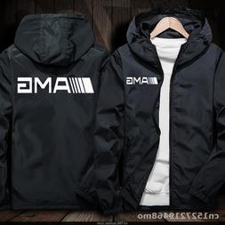 Windproof <font><b>Jacket</b></font> for AMG logo in car <fo