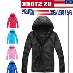windproof jacket men women quick drying lightweight