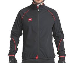4ucycling Windproof Full Zip Wind Jacket with 3-layers Compo