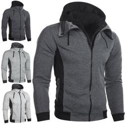 Winter Fashion Men's Hoodie Hooded Sweatshirt Coat Jacket Ou