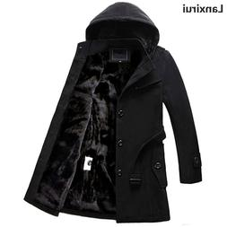 Winter <font><b>Mens</b></font> <font><b>Hooded</b></font> W
