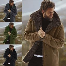 Winter Jacket Mens Warm Coat Thicken Windbreaker Parka Cotto