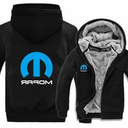Winter Mopar Hoodies Men Fashion Coat Wool Liner Jacket Mopa