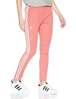 adidas Originals Women's Superstar Trackpants, Tactile Rose,