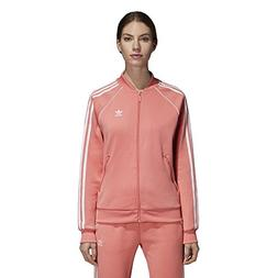 adidas Originals Women's Superstar Tracktop, Tactile Rose, S