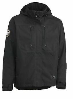 Helly Hansen Workwear Men's Berg Insulated Jacket Black XX-L