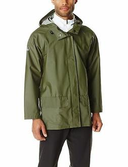 Helly Hansen Workwear Men's Mandal Rain Jacket Army Green X-