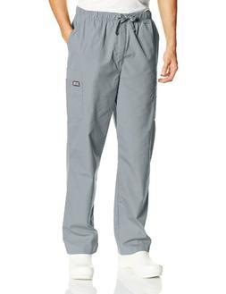 workwear scrubs men s cargo pant grey