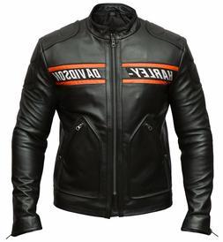 WWE Bill Goldberg Harley Davidson Vintage Motorcycle Leather