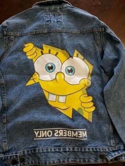 Members Only x Nickelodeon SpongeBob Jean Trucker Jacket Men