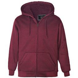 Erin Garments Mens Zip Front Hoodie Oversized Heavyheight Sh