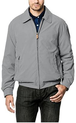 London Fog Men's Zip Front Light Mesh Lined Golf Jacket, Ste