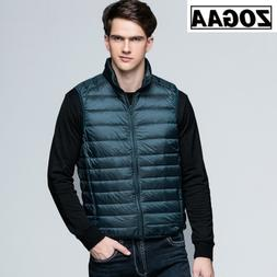 ZOGAA 2019 NEW Winter <font><b>Men</b></font> Duck Down Vest